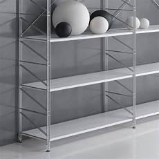 librerie metalliche libreria componibile socrate 21 in filo acciaio cromato