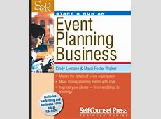 Start & Run an Event Planning Business