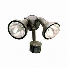 Hoover Led Motion Sensor Light All Pro 180 Degree Bronze Motion Activated Sensor Outdoor