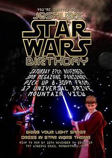 Star Wars Birthday Party Invitations Free Kids Party Invitations Star Wars Party Invitation
