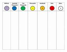 Place Value Chart With Disks 23 Best Place Value Disk Stuff Images On Pinterest Maths