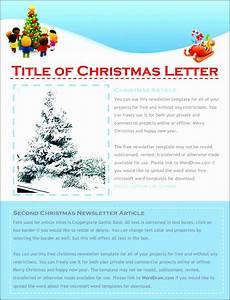 Microsoft Word Christmas Letter Template 9 Free Christmas Letter Templates Download Word