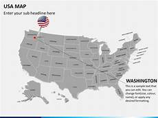 united states powerpoint map powerpoint usa map united states map ppt sketchbubble