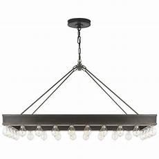 Ralph Light Fixtures Roark Rectangular Pendant In Aged Iron Lighting