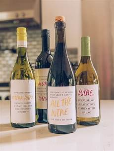 Homemade Wine Labels Diy Gift Idea Funny Wine Labels For Free Download
