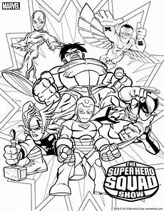 Superheroes Coloring Marvel Superhero Coloring Pages Getcoloringpages Com