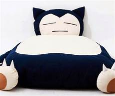 snorlax bed geekynpopculture2