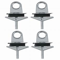 4 pc universal truck bed anchor points tie hooks