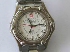 Wenger Sak Design Watch Wenger Sak Design Water Resistant 100m Date 24 Hour Dial