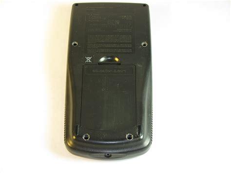 Ti 83 Plus Reset Button