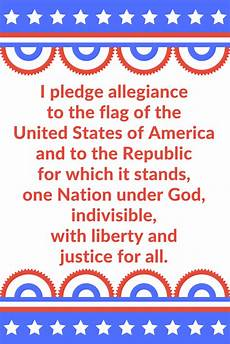 Another Word For Pledge Sunshine And Spoons Pledge Of Allegiance Printable