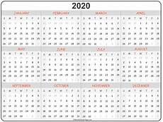 online printable calendar 2020 2020 year calendar yearly printable