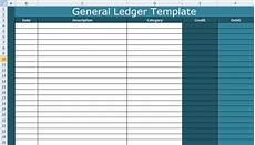Ledger Template Free General Ledger Template Excel Xls Free Excel