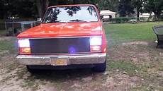 Led Lights For 85 Chevy Truck 83 Chevy C10 With Angel Eye S Headlights Youtube