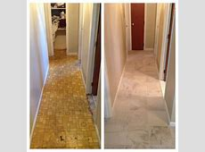 Before and After: Kitchen Tile!   we will be using ivetta white in our new bathroom