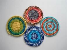 fabric scrap coasters craft stash bash 11 handmade by