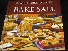 Bake Sale Name Ideas Favorite Brand Name Bake Sale Cook Book Cookbooks