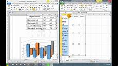 How To Do A Sign Chart How To Insert A 3d Column Chart For Result Analysis Youtube