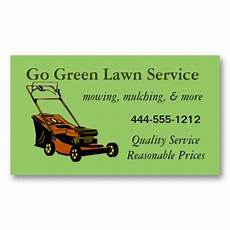 Lawn Mowing Business Name Ideas Pin On Lawn Service Business Cards