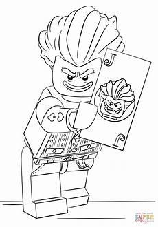 lego arkham asylum joker coloring page free printable