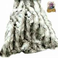 shag throw rabbit faux fur throw blanket black