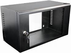 datacel 6u 275mm wall mounted patching cabinet