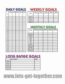 Sales Goal Chart Template New Year Goal Setting Tips Free Printable Goals Sheet