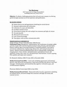 Medical Records Resumes Professional Medical Records Clerk Resume Template