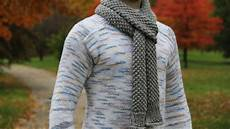 knitting men how to knit s scarf tutorial with detailed