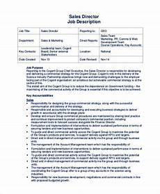 Regional Sales Director Job Description Free 11 Sample Sales Job Descriptions In Pdf Ms Word
