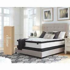 Signature Design By Chime Firm Mattress Signature Design By Chime 12 Inch Hybrid Mattress