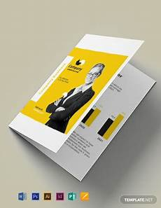 Foldable Pamphlet Template Free A5 Half Fold Brochure Template Word Doc Psd