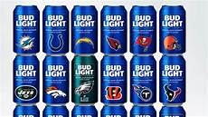 Bud Light Vikings Can 2018 Nfl Bud Light Cans 28 Teams Have Special Cans