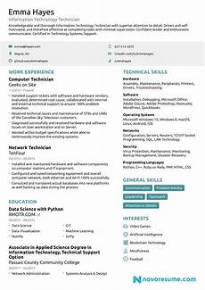 It Cv It Resumes Samples Resume Format