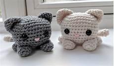 cube cat amigurumi free crochet pattern