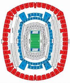 Metlife Virtual Seating Chart Metlife Stadium Seating Chart With Seat Numbers