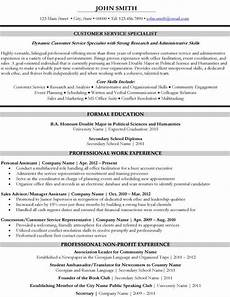 Student Services Resumes 10 Best Images About Best Customer Service Resume