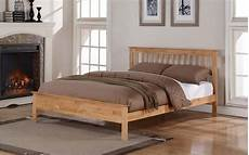 ultimum pentre king 6ft bed oak wood finish