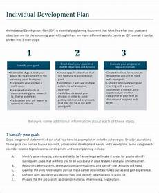 Career Development Goal Examples 12 Career Development Plan Examples In Pdf Ms Word