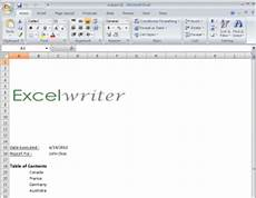 Excel Cover Page Template How To Cover Page Excel Create Techyv Com
