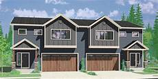 duplex house plans designs one story ranch 2 story