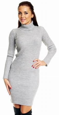 zeta ville s stretch ribbed knit dress roll turtle