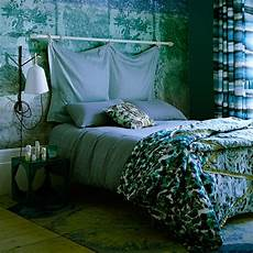 Blue And Green Bedroom Blue And Green Bedroom With Panel Decorating