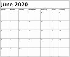planner june 2020 june 2020 june 2020 calendar template