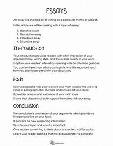 English Essay Writing Examples Writing Guide For Essays English Unite
