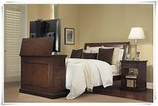 bedroom automationleather bed tv lift from bed for bed lcd