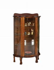 solid wood curio cabinet from dutchcrafters amish furniture
