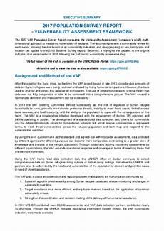 Executive Summary Report Document Executive Summary Of 2017 Population Survey