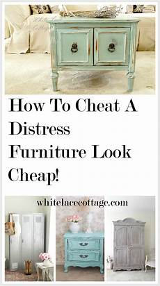 How To White Paint How To A Distress Furniture Look Cheap P