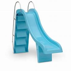 Blue Slides Straight Pool Slide Blue Pool Slides Water Technics